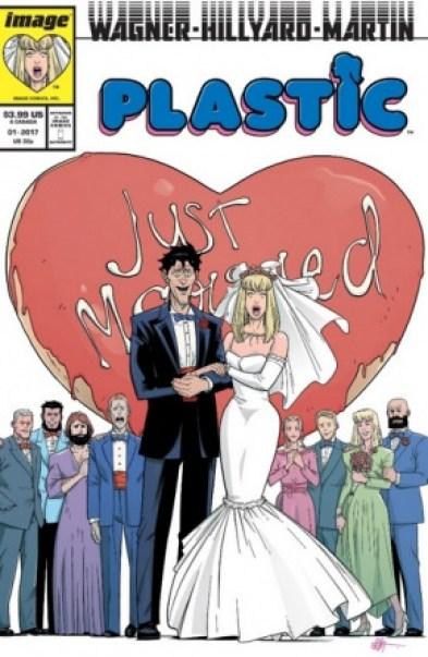 Plastic Image Comics April Fools variant cover