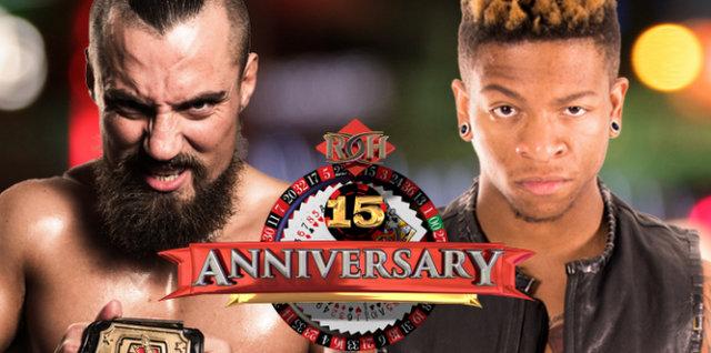 ROH 15th Anniversary - Marty Scurill vs Lio Rush