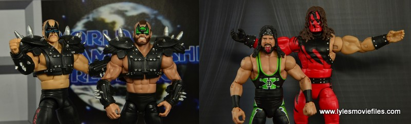 Road Warriors vs Kane and X-Pac first round