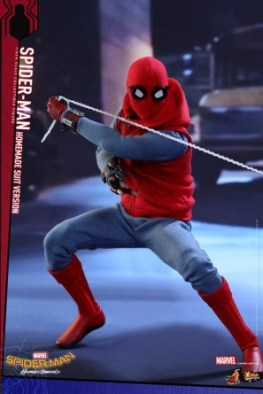 Spider-Man Homecoming Homemade Suit - yanking back with web