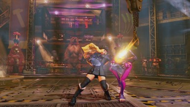 Street Fighter V - Kolin attacking