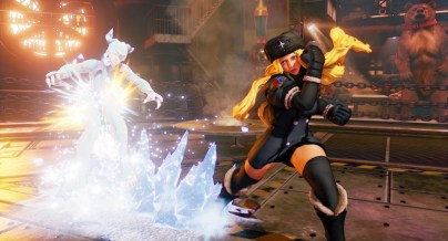 Street Fighter V - Kolin ice wave