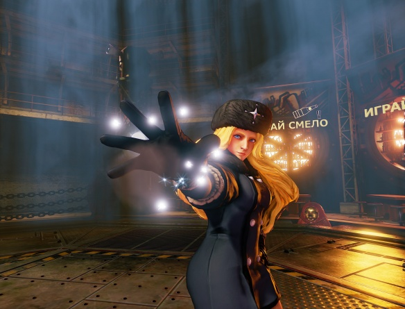 Street Fighter V - Kolin posing