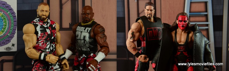 The Dudley Boyz vs The Wolfpac
