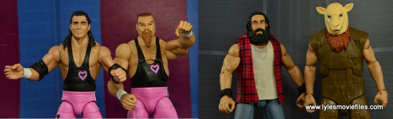 The Hart Foundation vs The Wyatt Family