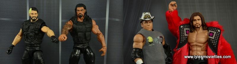 The Shield vs Miz and Morrison