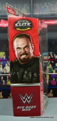 WWE Elite Big Boss Man figure review - package side