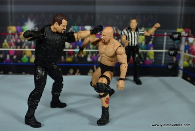 WWE Elite Big Boss Man figure review - punching Stone Cold
