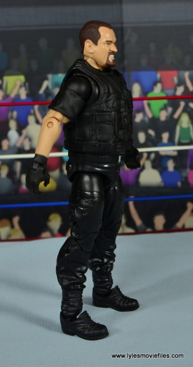 WWE Elite Big Boss Man figure review - right side