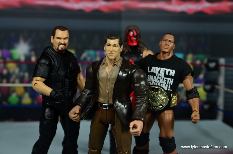 WWE Elite Big Boss Man figure review - with The Corporation