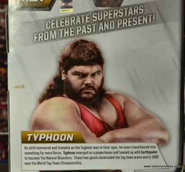 WWE Elite Natural Disasters figure reviews -Typhoon bio