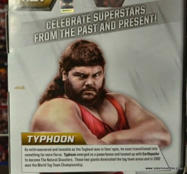 WWE Elite Natural Disasters figure reviews -Typhoon bio