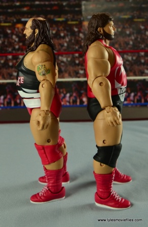WWE Elite Natural Disasters figure reviews -back to back