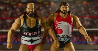 WWE Elite Natural Disasters Earthquake and Typhoon figure review
