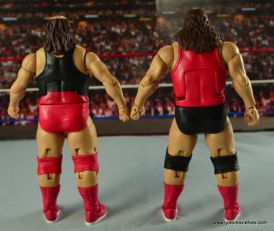WWE Elite Natural Disasters figure reviews -rear