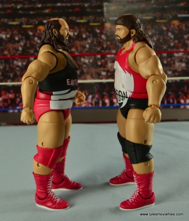 WWE Elite Natural Disasters figure reviews - side 1
