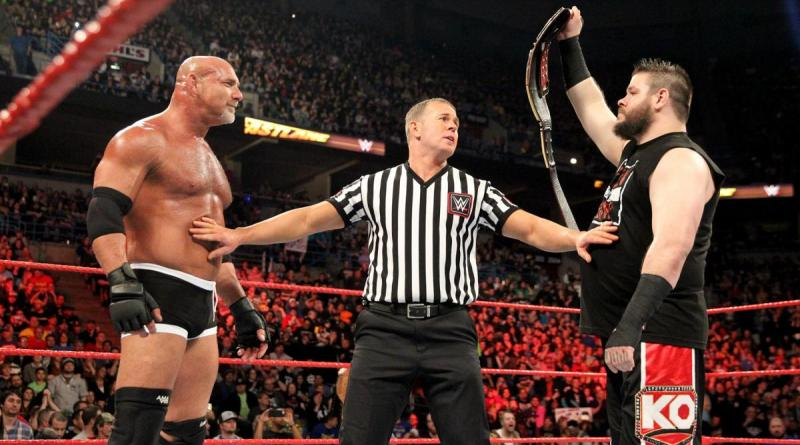 WWE Fastlane 2017 - Goldberg vs Kevin Owens