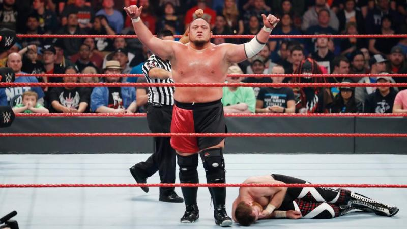 WWE Fastlane 2017 - Samoa Joe vs Sami Zayn