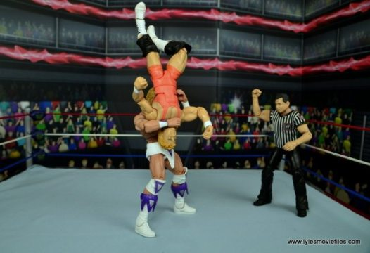 WWE Narcissist Lex Luger figure review - suplex to Mr. Perfect