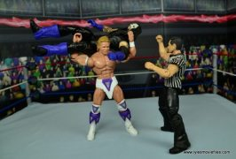 WWE Narcissist Lex Luger figure review - torture rack to The Undertaker