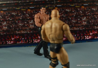 WWE Network Spotlight Vince McMahon figure review -facing off with Stone Cold
