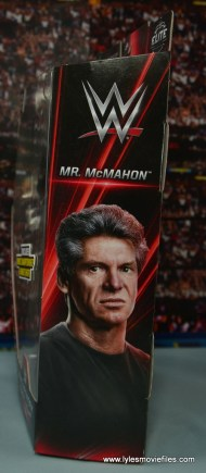 WWE Network Spotlight Vince McMahon figure review -package side