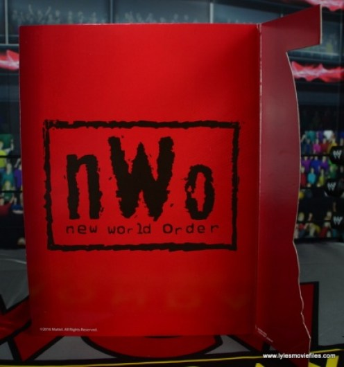 WWE Wolfpac Sting figure review -inner lining