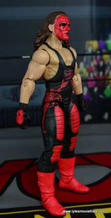 WWE Wolfpac Sting figure review -right side