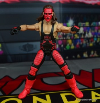 WWE Wolfpac Sting figure review -spread out