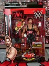 WWE nWo Wolfpac Kevin Nash Elite figure review - front package