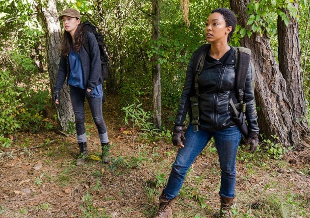 the-walking-dead-the other side - rosita and sasha