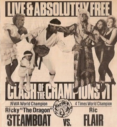 Clash of Champions Ragin Cajun