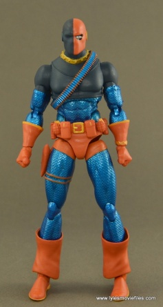 DC Icons Deathstroke the Terminator figure review - front side