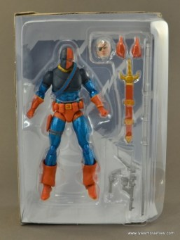 DC Icons Deathstroke the Terminator figure review -inner tray