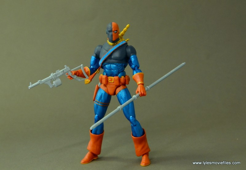 DC Icons Deathstroke the Terminator figure review - with all accessories