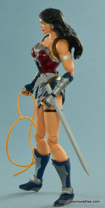 DC Icons Wonder Woman figure review -left side