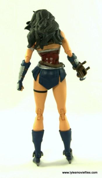 DC Icons Wonder Woman figure review -rear
