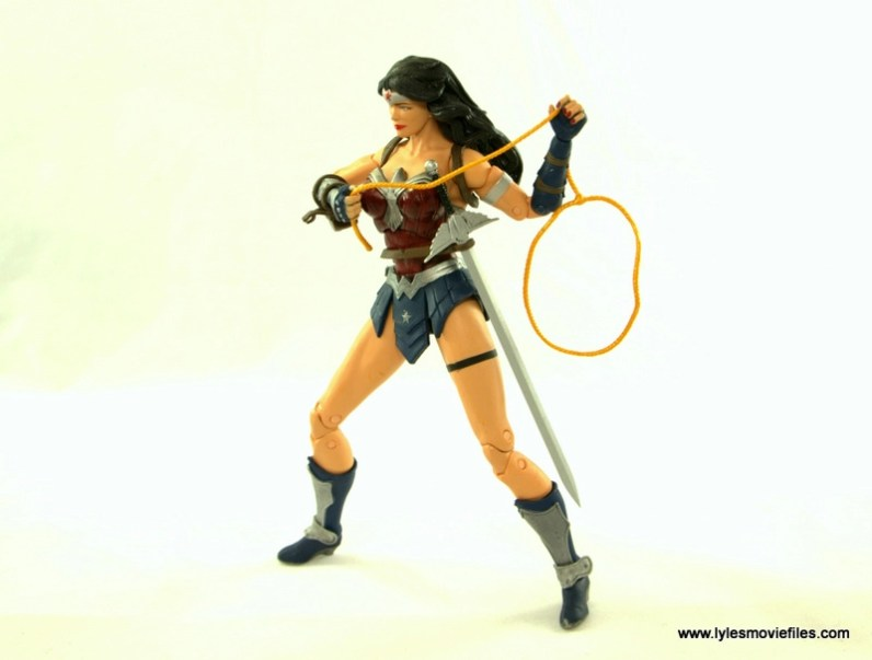 DC Icons Wonder Woman figure review -with lasso