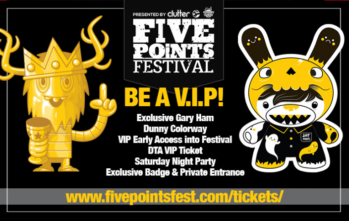Five Points Festival VIP exclusive