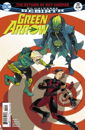 Green Arrow #20 cover