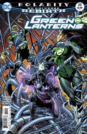 Green Lanterns #20 cover