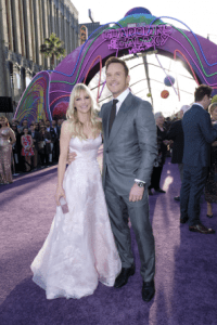 Guardians of the Galaxy Vol. 2 Hollywood premiere - Anna Faris and Chris Pratt