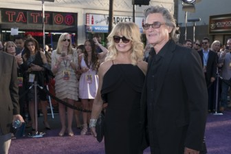 Guardians of the Galaxy Vol. 2 Hollywood premiere -Goldie Hawn and Kurt Russell