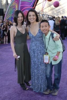 Guardians of the Galaxy Vol. 2 Hollywood premiere -Ming-Na Wen and family