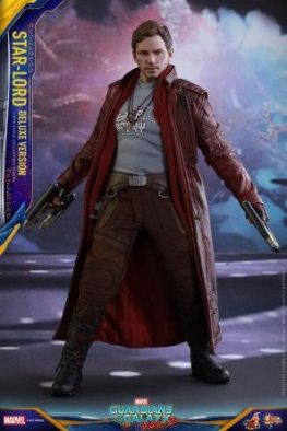 Hot Toys Guardians of the Galaxy Vol. 2 Star-Lord deluxe figure -guns to side