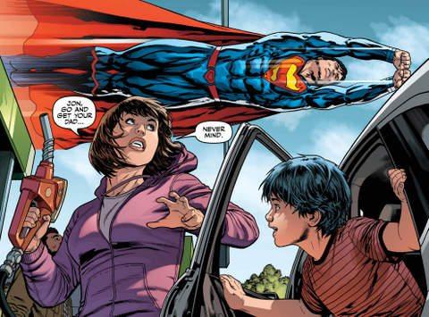 Justice League #18 interior art