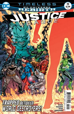 Justice League #19 cover