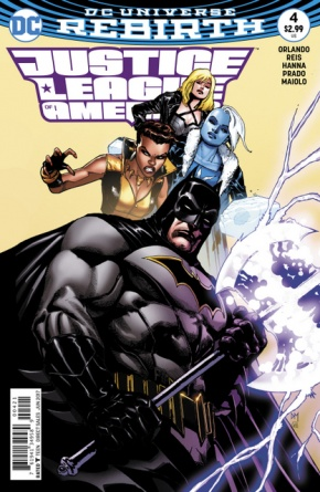 Justice League of America #4 cover