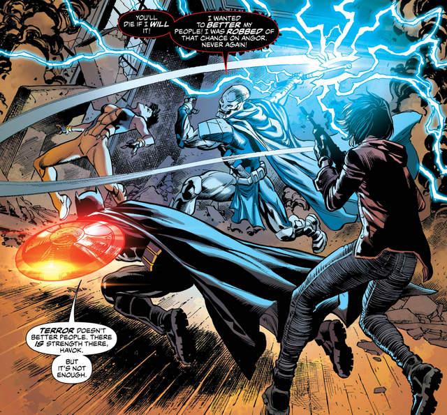 Justice League of America #4 interior art