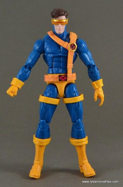 Marvel Legends Cyclops figure review -front
